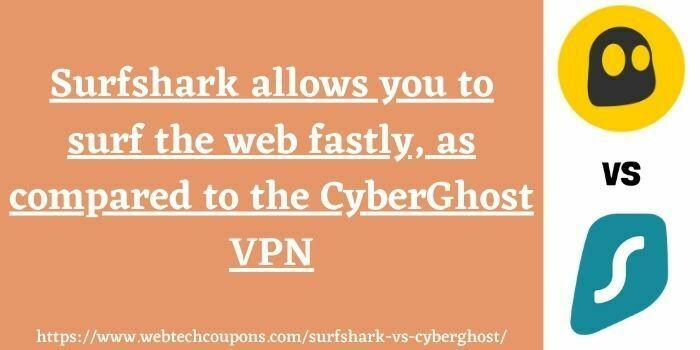 Surfshark vs CyberGhost speed
