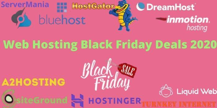 Web Hosting Black Friday Deals 2020
