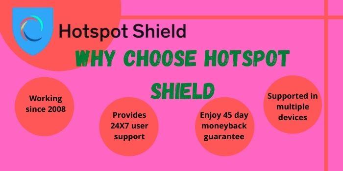 Why Choose Hotspot Shield