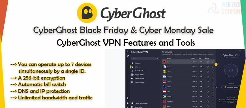cyberghost black Friday sales