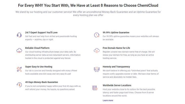 Benefits Of Chemicloud Web Hosting