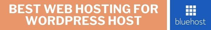 Best Web Hosting For WordPress Host