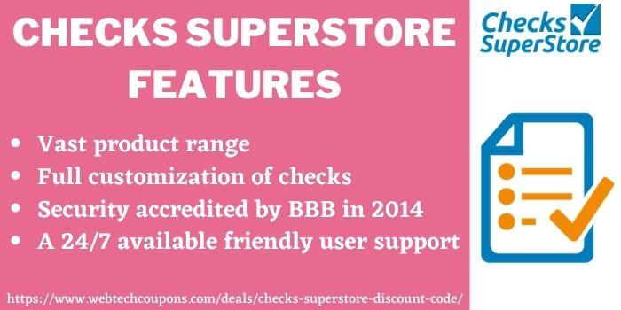 Checks SuperStore Discount Deal