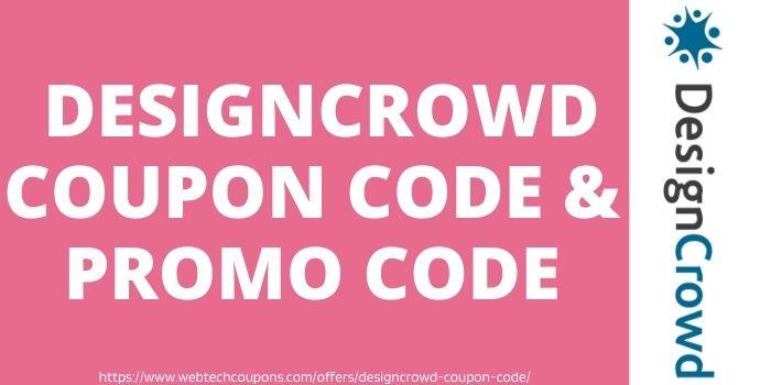 DesignCrowd Coupon Code & Promo Code