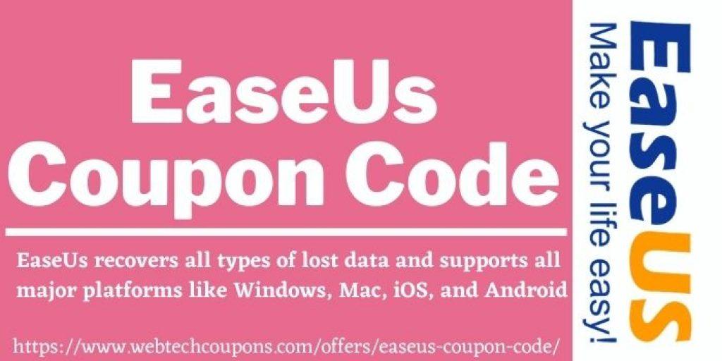 EaseUs Coupon Code & Promo Code