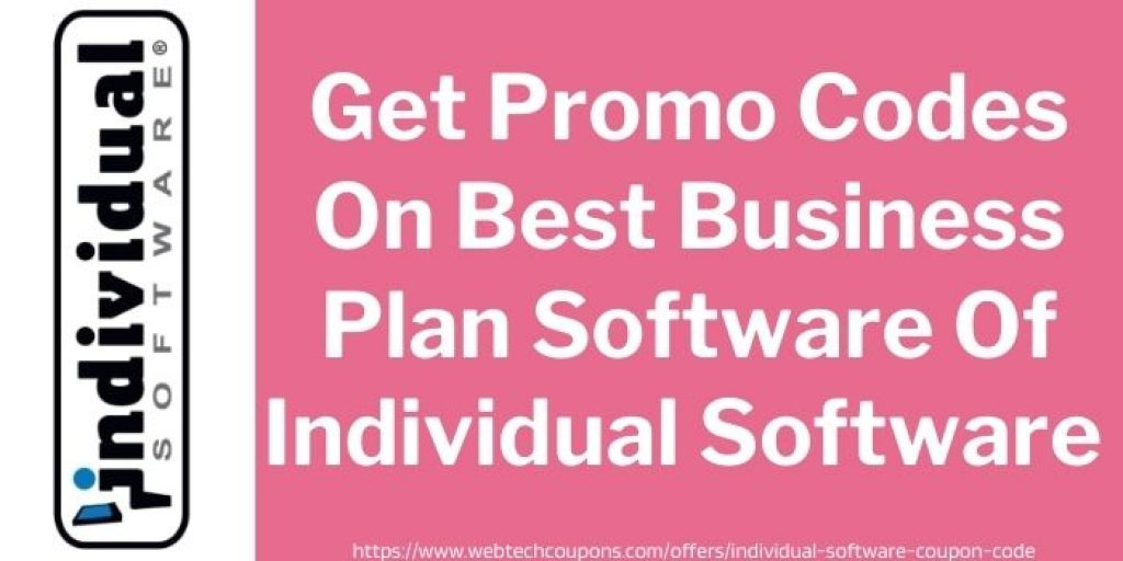 Get Promo Codes On Best Business Plan Software Of Individual Software