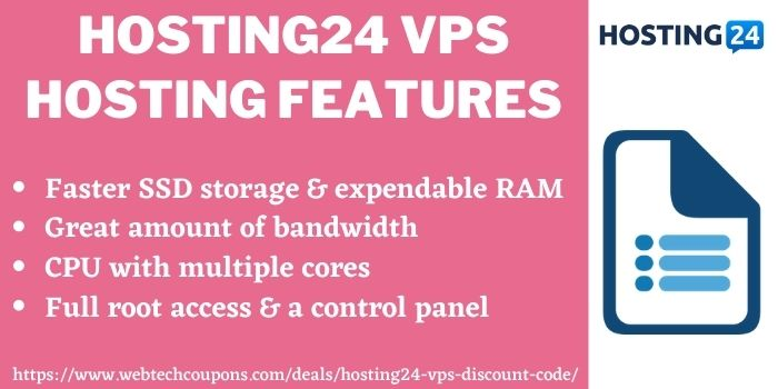 Hosting24 VPS Discount Deal