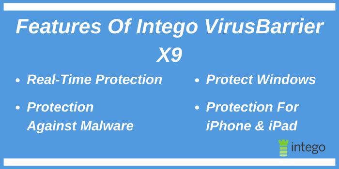 Mac Internet Security X9 Promo Code - Features of Intego VirusBarrier X9