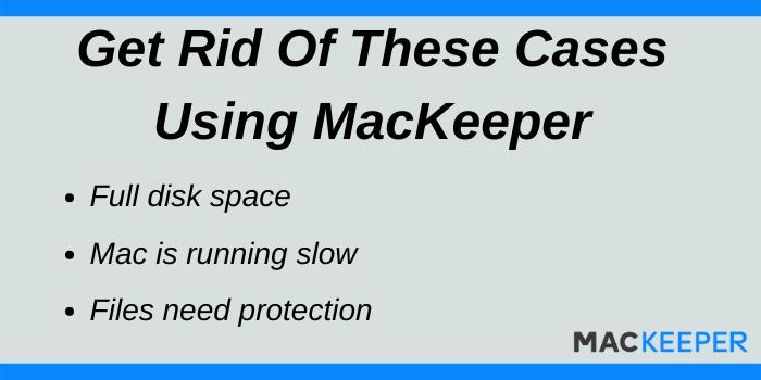 MacKeeper Discount Code - Use MacKeeper in these cases