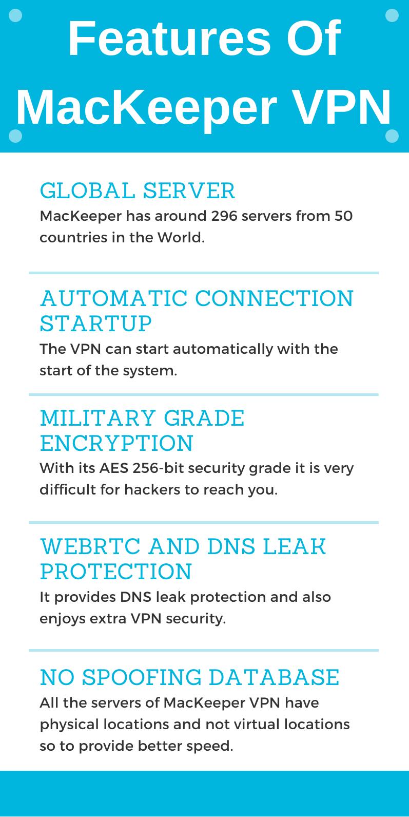 MacKeeper Promo Code - Features OF MacKeeper VPN