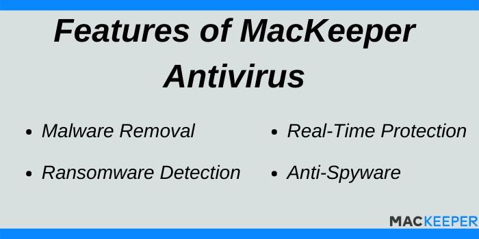MacKeeper discount offer Code - Features of MacKeeper Antivirus