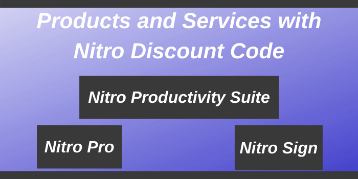 Nitro Promo Code - Products and services of Nitro