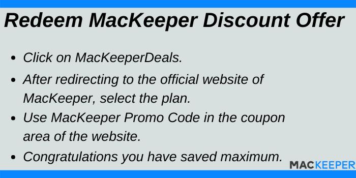 Redeem MacKeeper Discount Offers