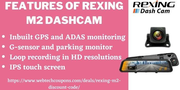 Rexing M2 Discount Deal