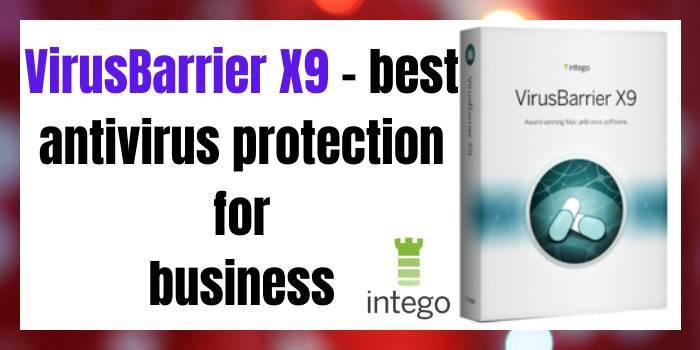 VirusBarrier X9 Best Antivirus Protection for Business