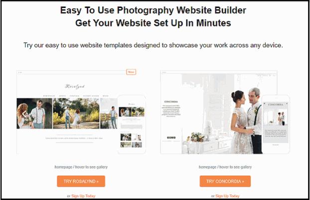 Zenfolio Website Theme