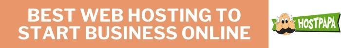 best Web Hosting To Start Business Online