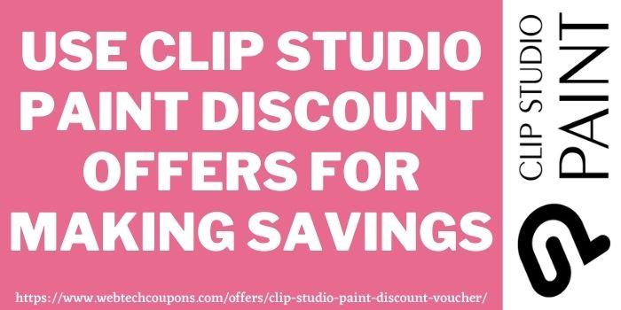 clip studio paint discount coupon