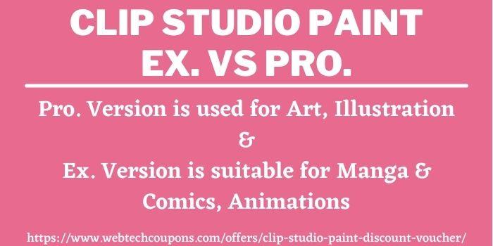 clip studio paint ex coupon code 2020