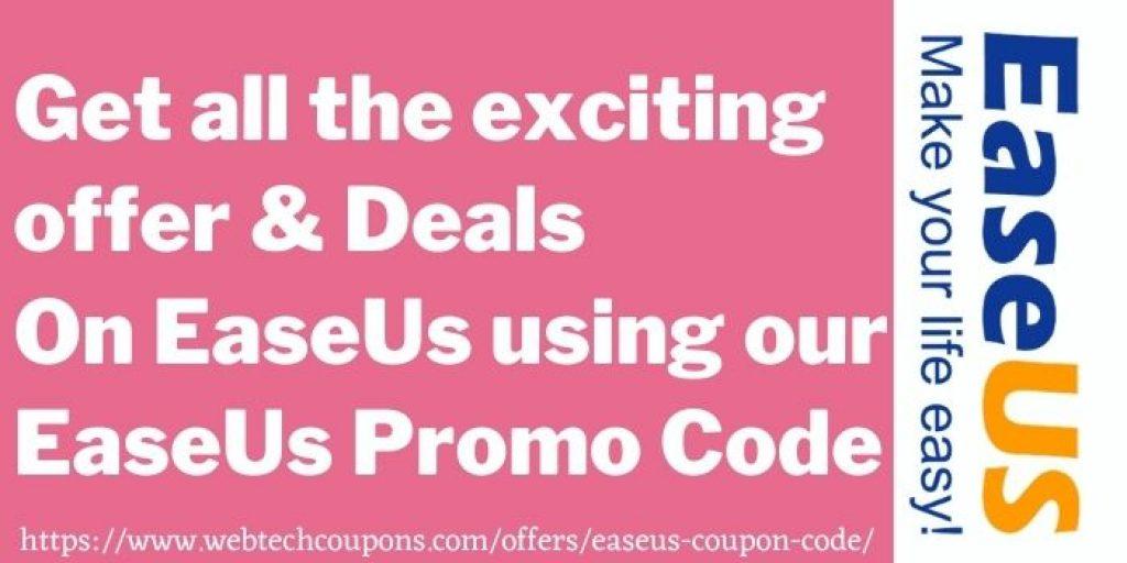easeus promo code www.webtechcoupons.com