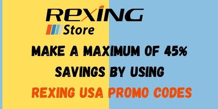 Rexing USA coupon