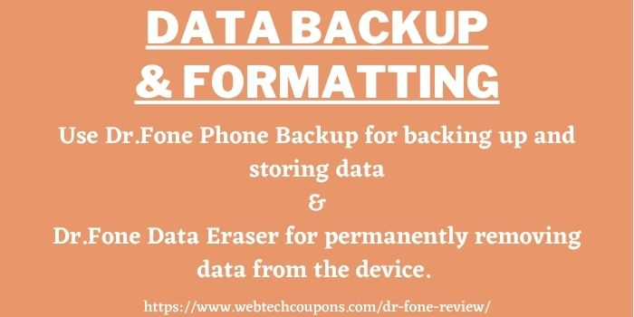 Dr.Fone Data recovery