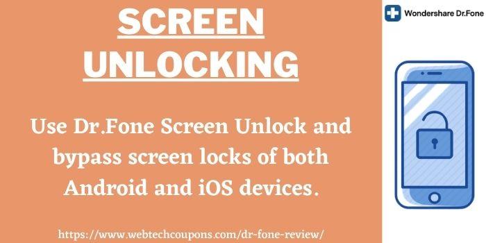 Dr.Fone Screen Unlocking