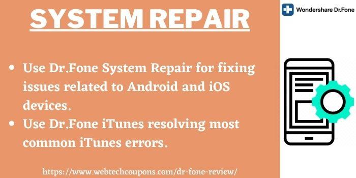 Dr.Fone System Repair