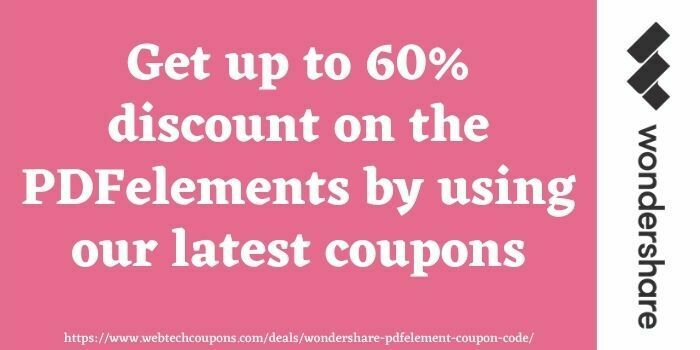 PDFelement coupons www.webtechcoupons.com