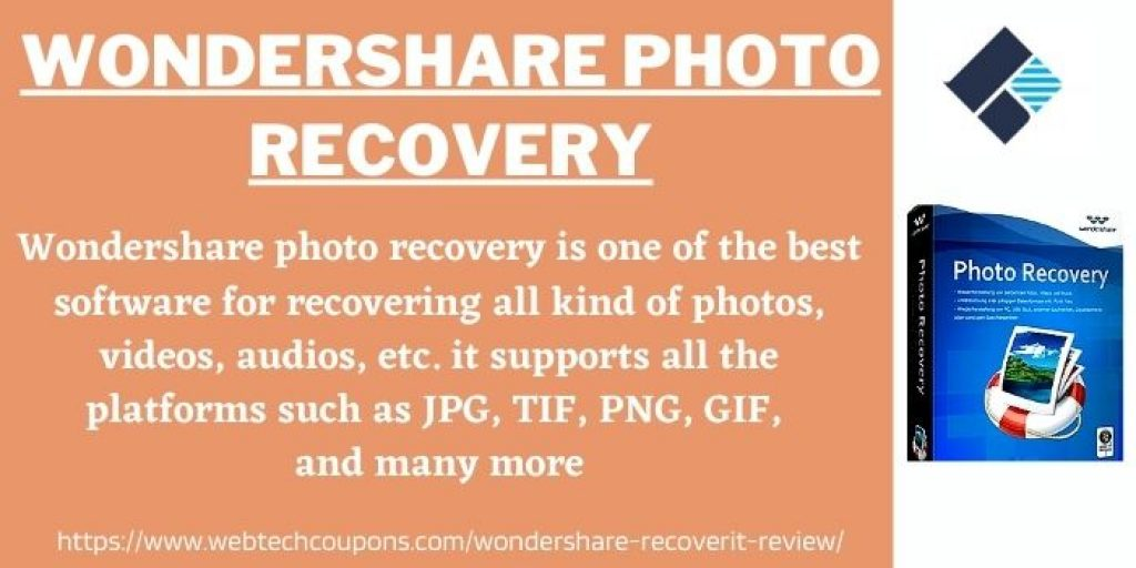 Wondershare Photo Recovery Review