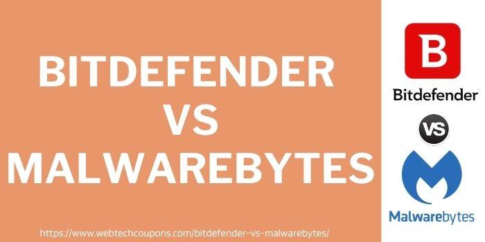 Bitdefender vs malwarebytes comparison