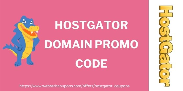 HostGator Domain Promo Code