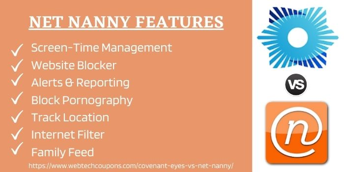 Net Nanny Features