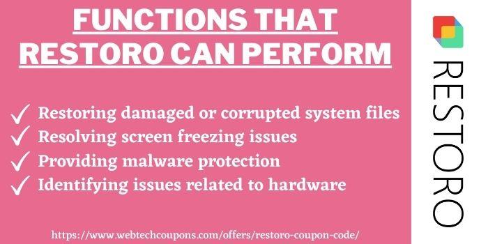 What is Restoro Software