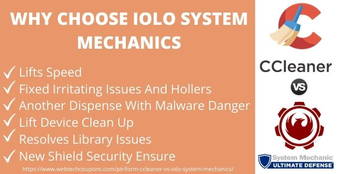 Why Choose iolo system mechanics