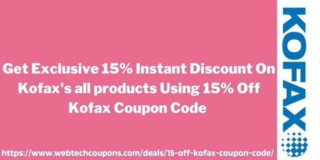 15% Off Kofax Coupon Code