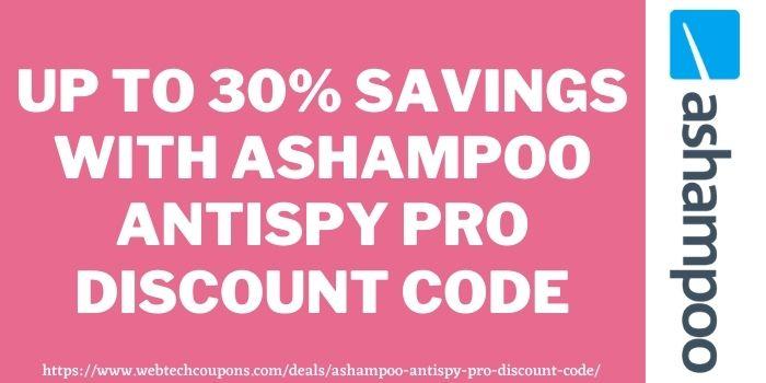 Ashampoo AntiSpy Pro Discount Coupon