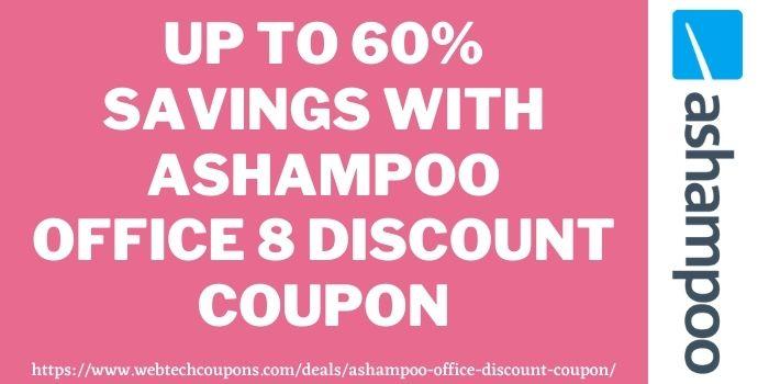Ashampoo Office 8 Discount code