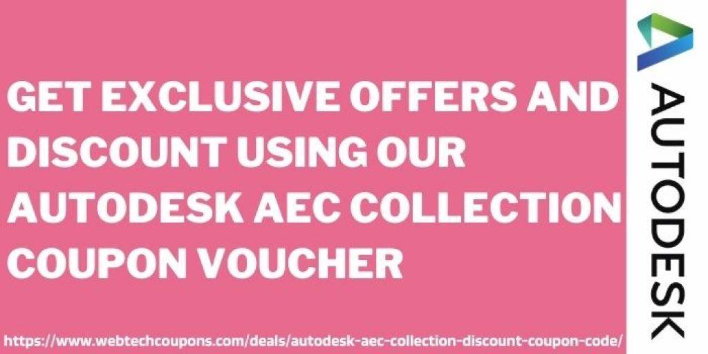 Autodesk AEC Collection Discount Coupon voucher www.webtechcoupons.com