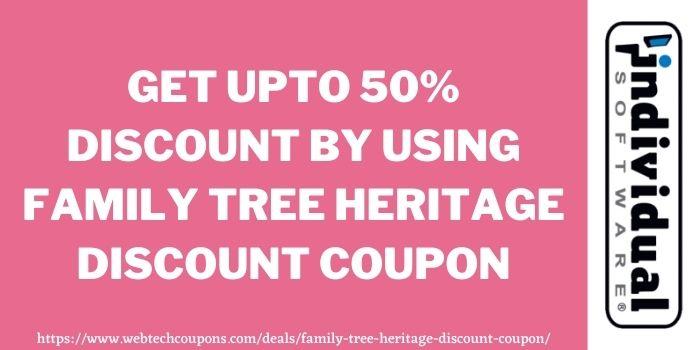 Family tree heritage discount code