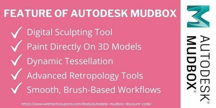 Feature Of Autodesk Mudbox