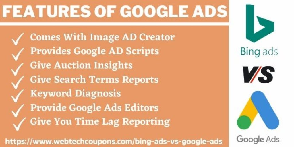 Features Of google Ads