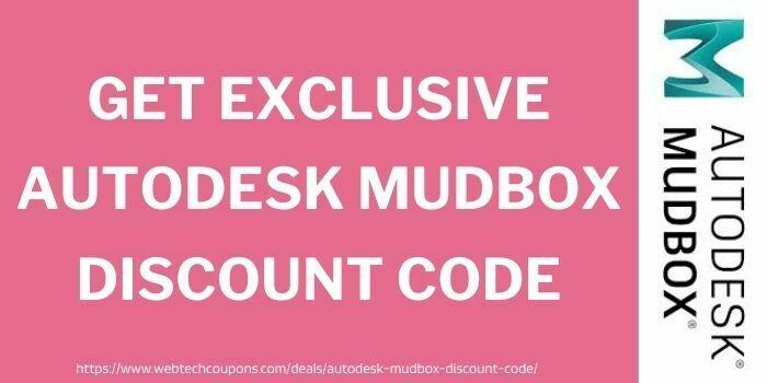 Get Exclusive Autodesk mudbox Discount Code