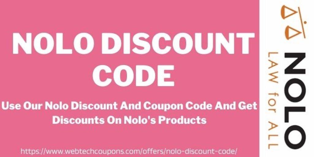 NOLO DISCOUNT CODE www.webtechcoupons.com
