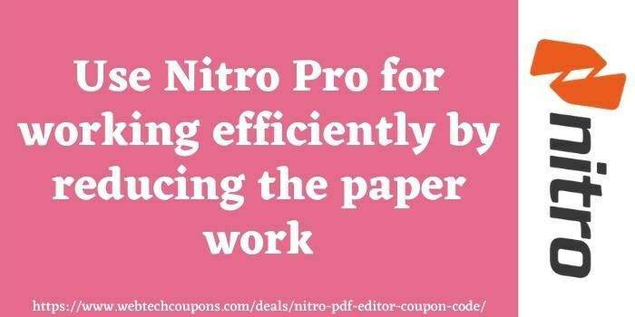 Nitro Pro Promo Code