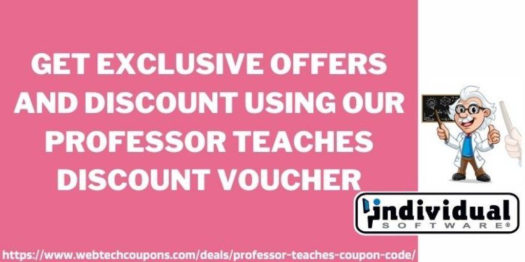 Professor Teaches Discount Voucher www.webtechcoupons.com