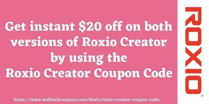 Roxio Promo Code