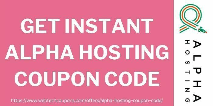 alpha hosting coupon code webtechcoupons.com