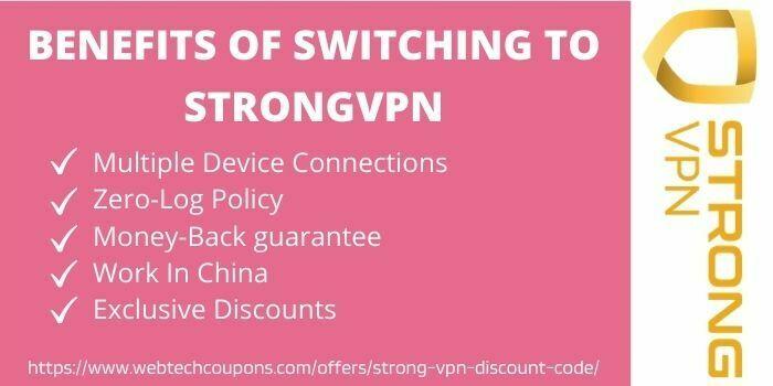 benefits of strongvpn