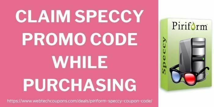 claim speccy promo code